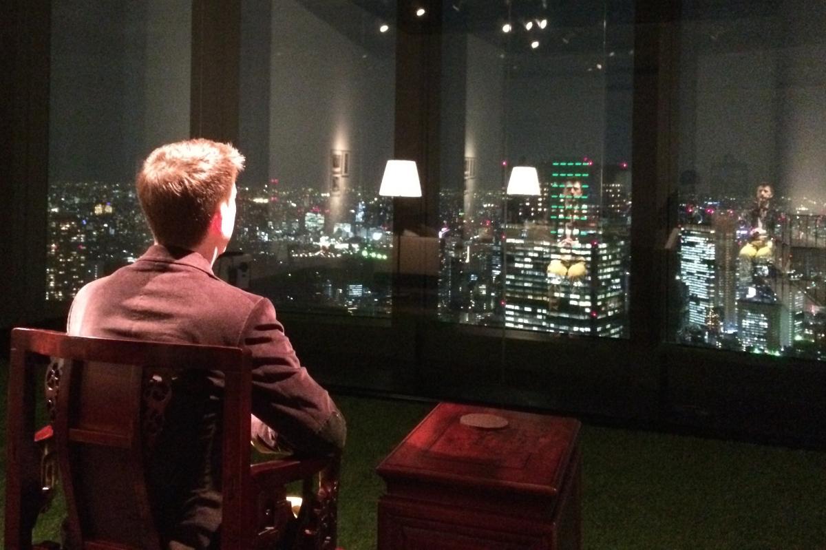 Lee Mingwei Living Room at Mori Artmuseum